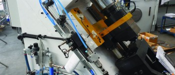 Impianto pneumatico tubazioni bordo macchina